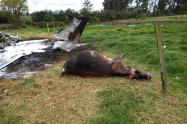 Accidente en Guaymaral