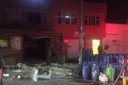 Superservicios pide explicación a prestador sobre exploción por cilindro de gas en Bogotá
