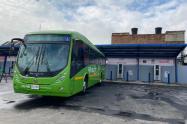 Nuevos buses eléctricos de Transmilenio
