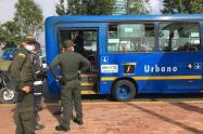 Atraco en bus del Sitp