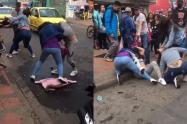 Cuatro mujeres casi quedan calvas tras impresionante 'mechoneada'