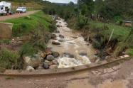 Deslizamientos de tierra y desbordamiento de afluentes en Usme y Ciudad Bolívar