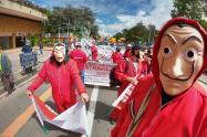 Protestas en Bogotá, 19 de noviembre de 2020