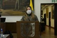 María Fernanda Rojas presidirá la corporación en 2021