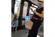 Discriminación en autobús en España