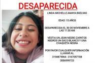 Linda Michelle Amaya, reportada como desaparecida