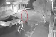 Ladrón que iban a robar fue brutalmente atropellado