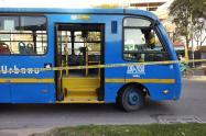 Robo en bus del Sitp
