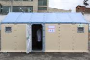 Hospital de campaña en Soacha (Cundinamarca)