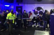 Fiesta clandestina en Kennedy, sur de Bogotá