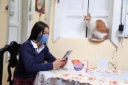Inicia año escolar en Bogotá, con clases virtuales
