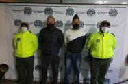 Venezolanos capturados por hurto