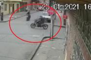 Choque entre motociclistas