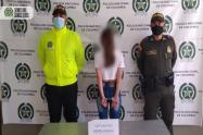 Niñera capturado por el presunto abuso sexual de un menor en el Suroeste de Antioquia.