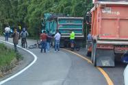 Ciclista muere tras ser arrollado