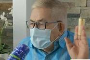 Adulto mayor recibe cita para vacunarse en Bogotá pero vive en Barranquilla