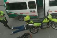 Captura de ladrones en Bogotá