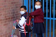 Clases presenciales - colegios de Bogotá en tiempos de covid