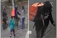 Falsos domiciliarios robando