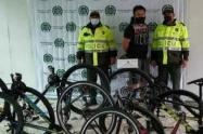 Hombre detenido por venta de bicicletas robadas
