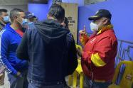 Fiesta clandestina hallada en Chapinero