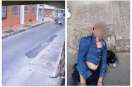 Ladrón recibe golpiza en Bogotá por golpear a una mujer