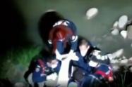 Vecinos lanzan al río Fucha a presunto delincuente