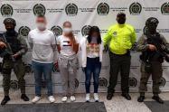 Presuntos integrantes de una red de lavado de activos al servicio de 'La Oficina'