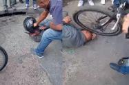 Golpiza a ladrón de celulares en Bosa