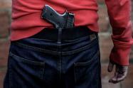 Pistola en Bogotá