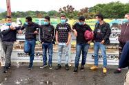 """""""Los Cosquilleros"""", fueron detenidos en flagrancia en un articulado de Transmilenio"""