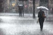 Lluvias fuertes en Bogotá