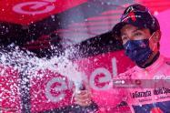 Egan Bernal, ganador de la novena etapa del Giro de Italia