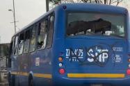 Bus del SITP robado