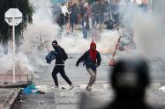 Protestas en Cundinamarca
