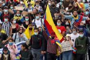 Protestas en Bogotá /Paro nacional el 12 de mayo de 2021