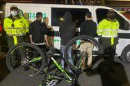 Capturan a ladrones de bicicletas
