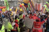 Protestas Hotel Tequendama