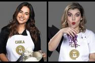 Carla Giraldo y Liss Pereira - MasterChef Celebrity