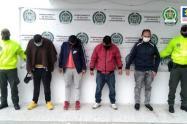 Capturan a ladrones de Zipaquirá