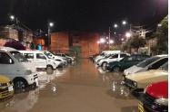 Inundaciones en barrio San Diego, Bosa.