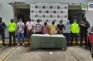 A la cárcel 'Los Bamberos' banda de ladrones de joyas en Tolima y Cundinamarca