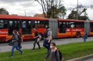 Problemas de movilidad en Bogotá por protestas del 23 de junio