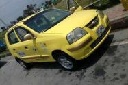 Taxi robado en Bogotá