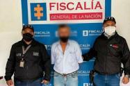El presunto abusador de niños fue capturado en zona rural de Rionegro, Antioquia.