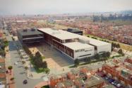 Construcción del nuevo hospital de Bosa