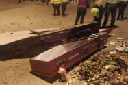 Vándalos saquearon funeraria en Usme
