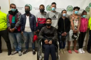 """Capturan en Bogotá a """"Los Intocables"""", grupo dedicado al microtráfico"""