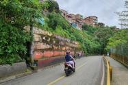 Accidente en vía de Medellín