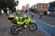Policía en Chapinero